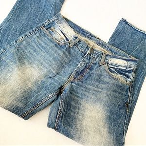 Aeropostale Stone Wash Slim/Straight Denim Jeans